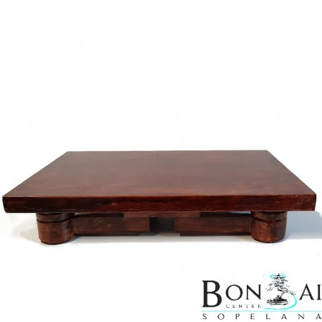 Mesa de madera baja display bonsai - Mesas para bonsais ...