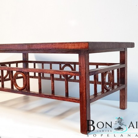 Mesa para bonsai de madera-display bonsai