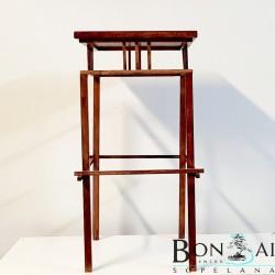 Mesa para bonsai de madera para cascadas