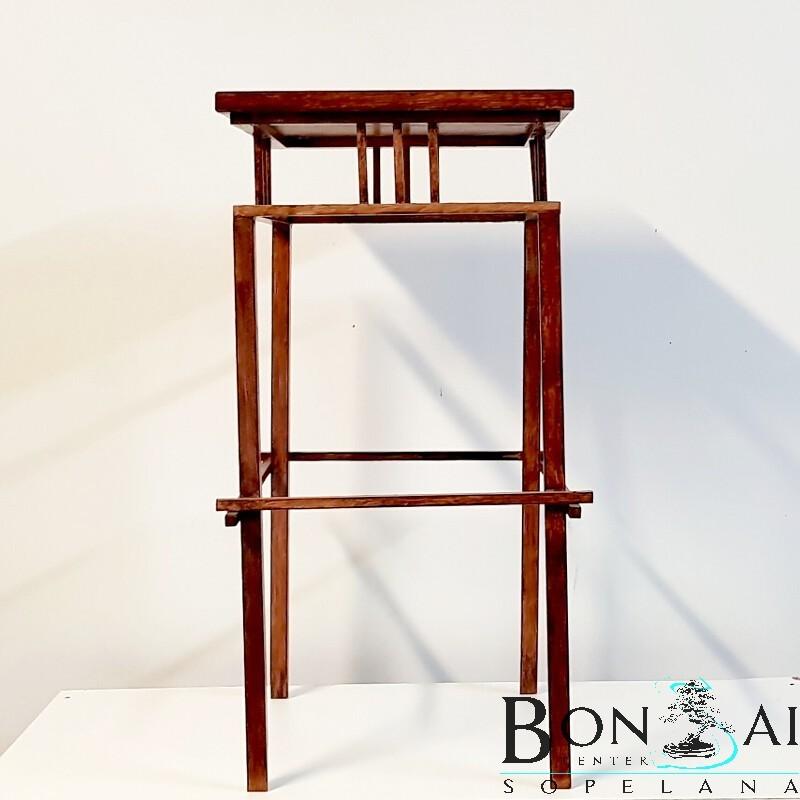 Mesa para bonsai de madera alta y recta - Mesas para bonsai ...