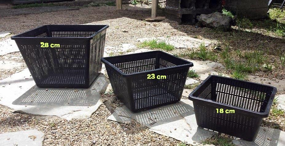 maceta entrenamiento microperforadas de 28 cm para preparación de