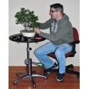 Torno Hidráulico Green T-Plus para trabajar bonsai. Profesional