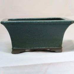 Maceta rectangular japon para seto verde