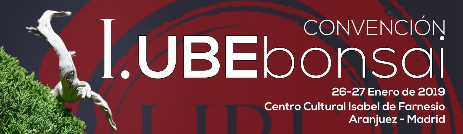 I. UBE BONSAI CONVENCIÓN  en ARANJUEZ, MADRID